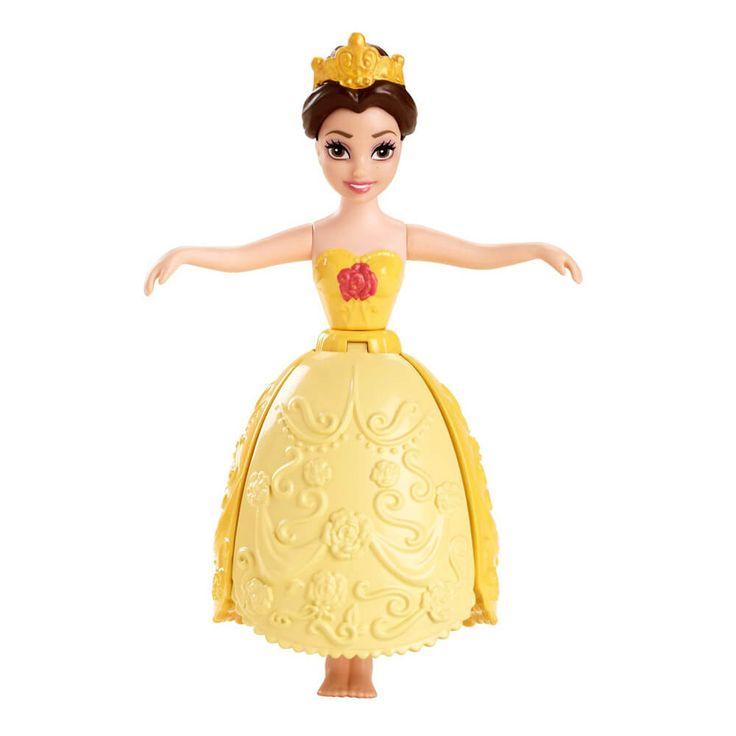 Pregateste-te de valuri regale in timpul baitei alaturi deDisney Printese Inotatoare Figurina Belle! Aceasta papusa adorabila poarta o fustita frumoasa, parca din petale, ce se extinde in apa si ii permite astfel sa pluteasca. Pentru...