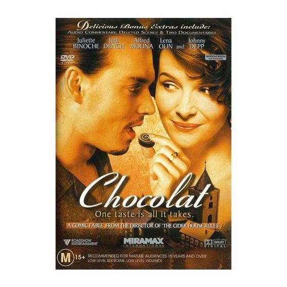 Chocolat -  Brand New DVD Region 4 PAL