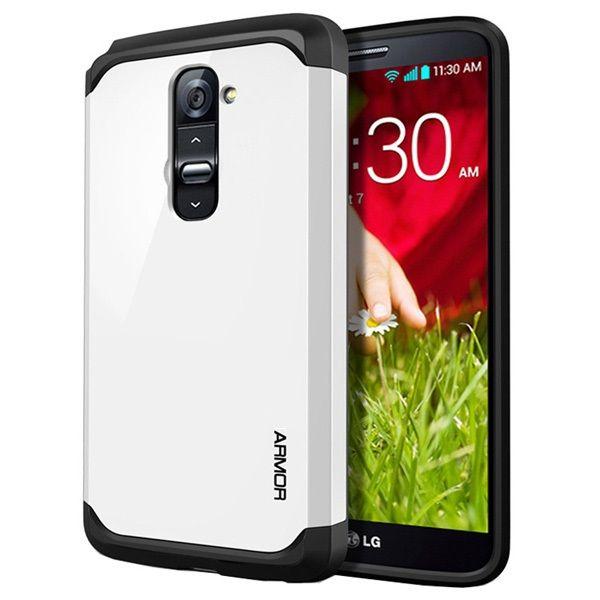 Θήκη Πλαστική Armor Case OEM Λευκό (LG G2) - myThiki.gr - Θήκες Κινητών-Αξεσουάρ για Smartphones και Tablets - Χρώμα λευκό