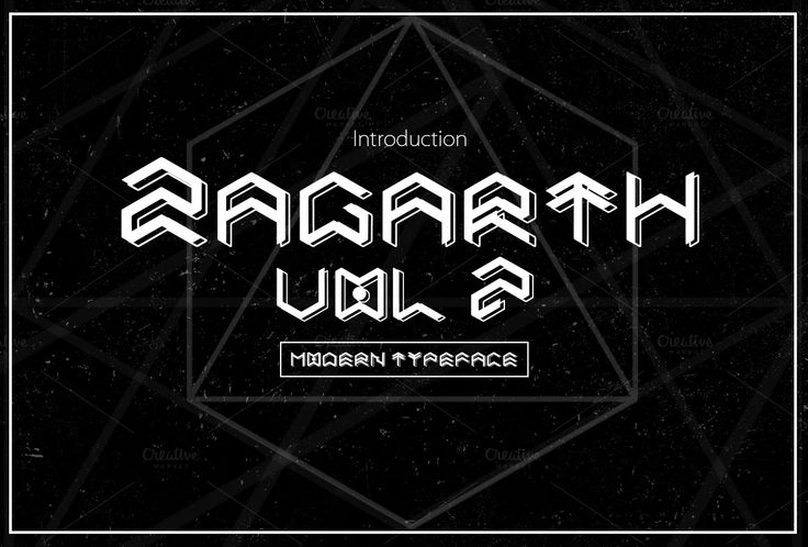 Zagarath Vol2 Typeface by MAGOO STUDIO on Creative Market