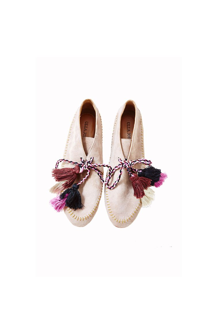 Ulla Johnson (@ullajohnson) Magres Moccasin   Hand-stitched detail   Handmade tassels   Ethically made in Peru