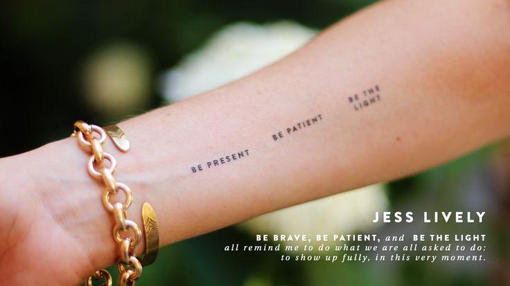 Love the intention tatoos JessLivelyintentiontattoo2