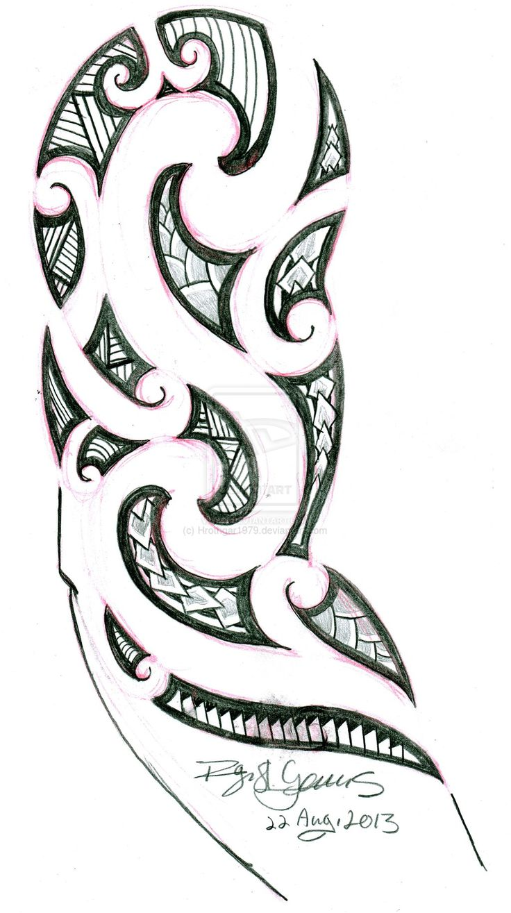 Maori Tattoo by Hrothgar1979.deviantart.com on @deviantART