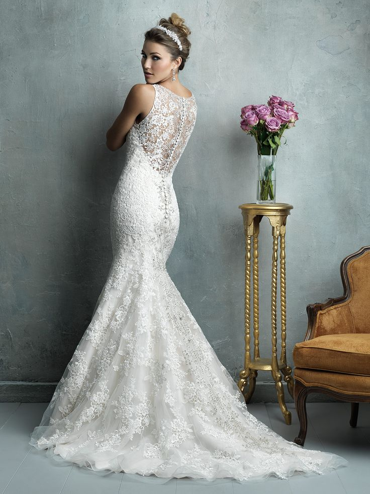 46 best Allure Bridals Couture images on Pinterest | Wedding frocks ...