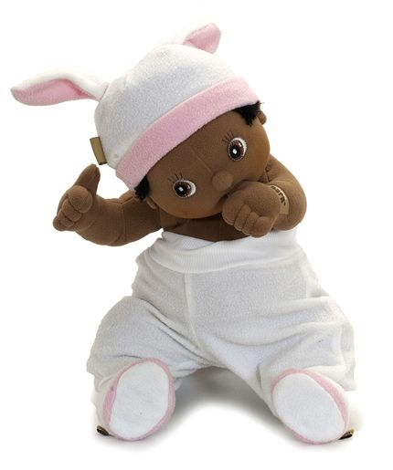 Rubens Barn, our baby Nora wearing the Pink outfit for little Baby...