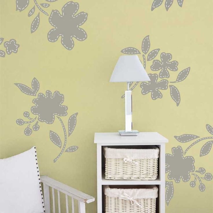 119 best I Love Stencils images on Pinterest | Wall stenciling, Lace ...
