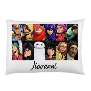 Big-Hero-6-Personalised-Pillowcase-Kids-Childrens-You-Choose-Name
