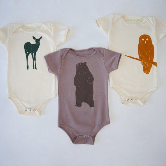 Organic Baby Arrow Bodysuit | Arrows One Piece | Screen Printed Clothing…