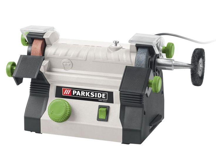 PARKSIDE® Modellbau-Doppelschleifer PMDS 100 A1 1