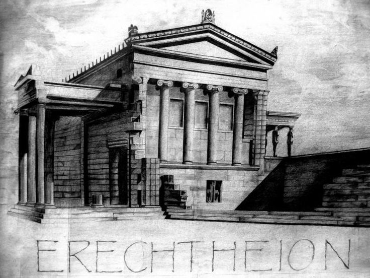 Greek Architecture Drawings 18 best Art images on ...