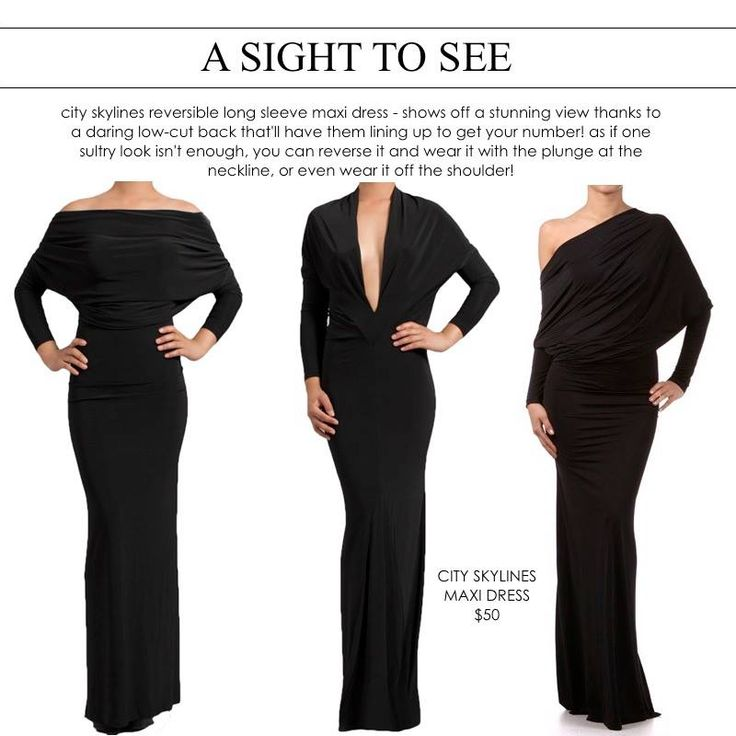 a sight to see! perfect #lbd and so versatile