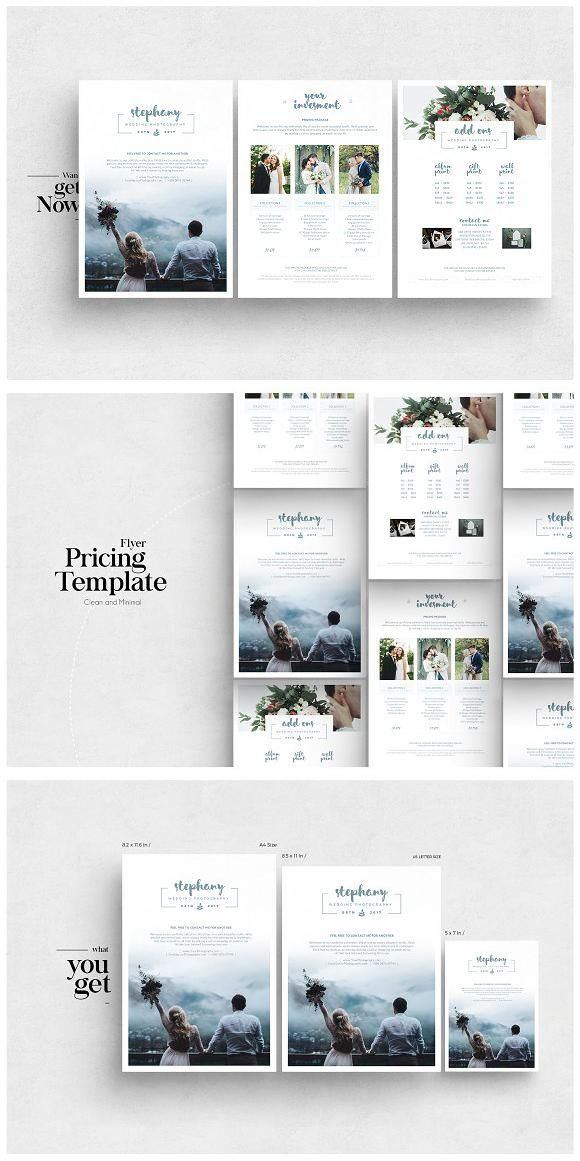 photography pricing guide flyer flyer flyertemplate template