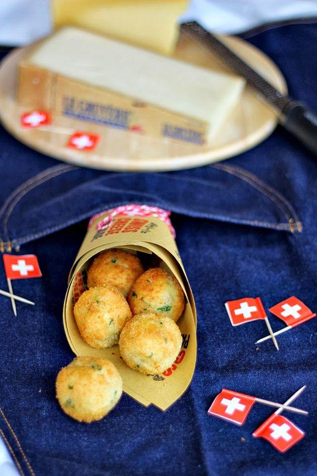 Chiarapassion: Polpette di patate e pane con cuore filante al Gru...