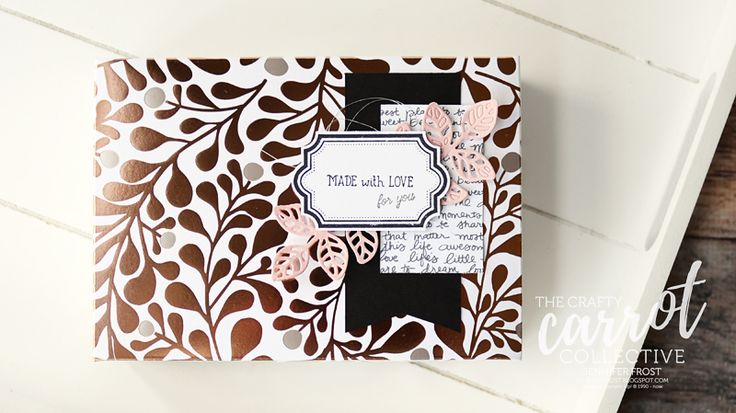 Labels to Love Lidded Giftbox, The Crafty Carrot Co Blog Hop, FREE VIDEO TUTORIAL, Flourish Thinlets, Stampin' Up!, Papercraft by Jennifer Frost