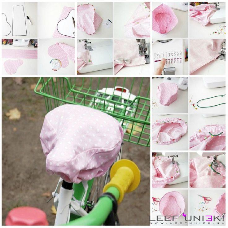 Leef Uniek   DIY   Creatief *Zadelhoes zelf maken, super handig voor de regen*