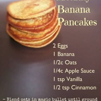 Sounds better than the other banana pancakes I've tried and they're sugar free.