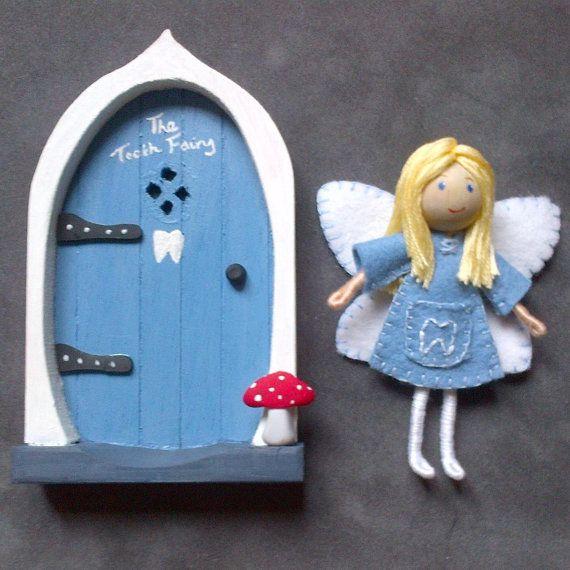 Tooth Fairy and Fairy Door