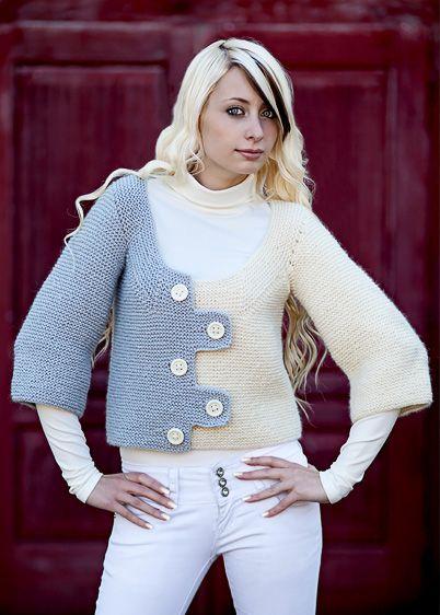 garter cardigan knitting pattern