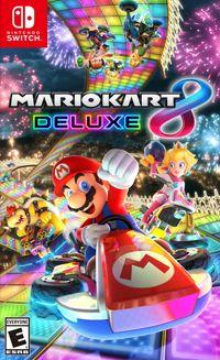 Mario Kart 8 Deluxe (Switch) Ulepszona wersja hitu Nintendo znanego z konsoli Wii U. Mario Kart 8 Deluxe doczekało się nowych tras i postaci, a ponadto oferuje całą zawartość znaną z oryginału - także tą z wypuszczonych do niego dodatków.