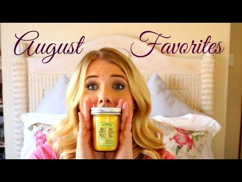 August Favorites 2015 | Jessica Pearce - YouTube
