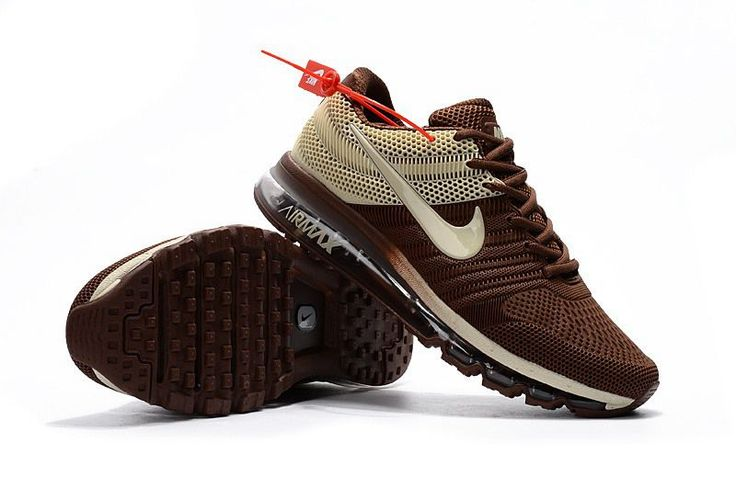 Nike Air Max 2017 Men Brown Beige
