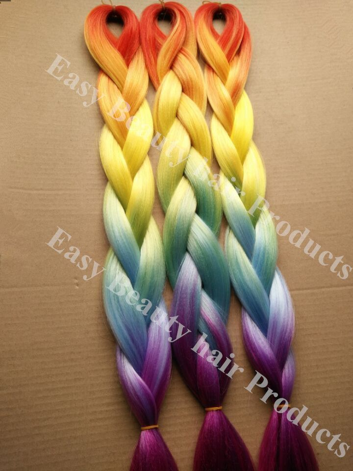Image result for kanekalon dyed with rit dye