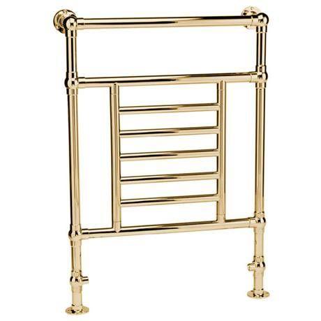 mere ramillies traditional towel rail gold at victorian plumbing uk