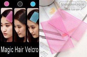 Magic Hair Velcro Penyanggah Poni Dan Rambut Halus Kepalamu Hanya Rp.6000/2pack - www.evoucher.co.id #Promo #Diskon #Jual  klik > http://www.evoucher.co.id/deal/Magic-Hair-Velcro  Magic Hair Velcro akan menahan poni dan rambut halusmu selain terlihat rapih juga agar tidak menutup mata & bagian dahi. Cocok juga untuk penahan rambut saat make up & mencuci wajah  pengiriman mulai 2013-10-10