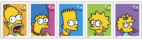 """D'oh! Special """"Homer Simpson"""" Postmark Offered at Springfield Post Office"""