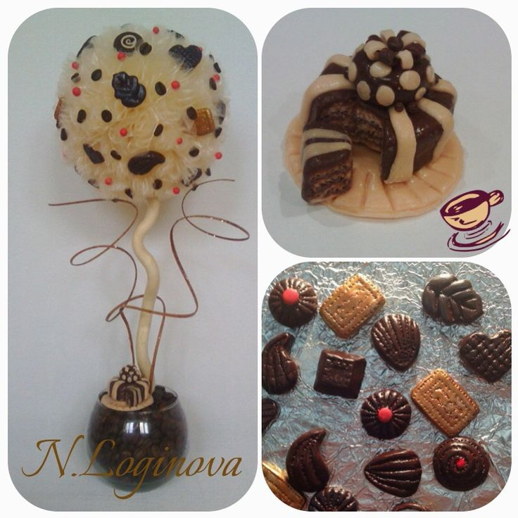 """""""Кофейный десерт"""" высота-42см #топиарий"""