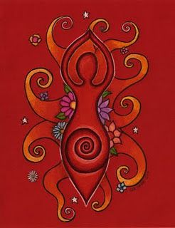 Goddess - Mandala armpiece...figure only without the background