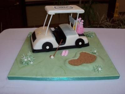 Golf Cart Golf Cart Is Hand Sculpted And Covered In