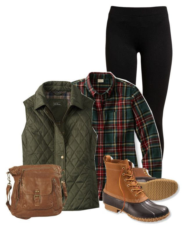 """LL Bean"" by aaauty ❤ liked on Polyvore featuring Vince, L.L.Bean and Wet Seal"