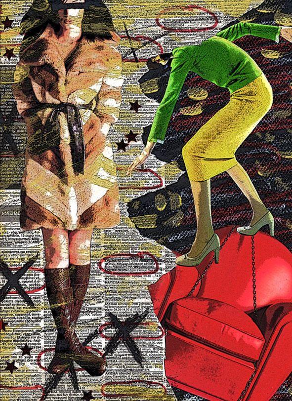 ''Scramble'' collage