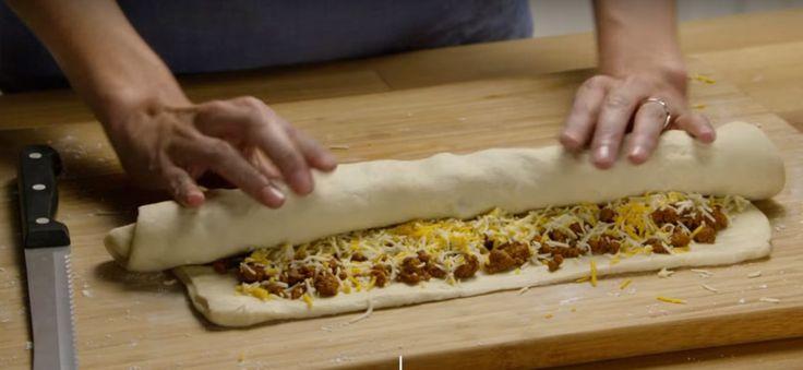 Boeuf hach assaisonnement taco garni de cr me sure for Assaisonnement tacos maison