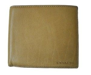 This quality leather bifold wallet carries the same quality as Coaches higher price wallets.  It is simple, subtle and understated. #Wallet #Best Wallet Under 100 Dollars #Coach