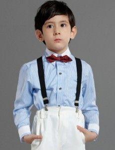 boy shirt long sleeve blue strips