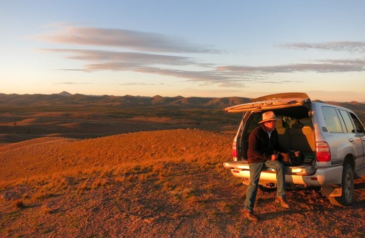 Flinders Ranges - It sure is beautiful right around sunset