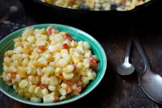 Side Dish Recipe: Cheesy Corn Bake