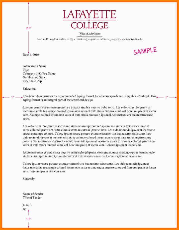Business Letter Letterhead Business Letter Business Letter