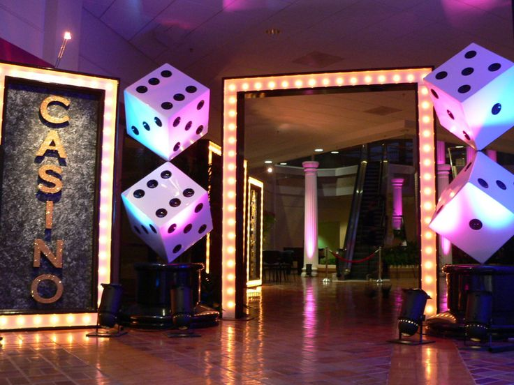 Jacksonville, FL Casino Party... Entrance idea