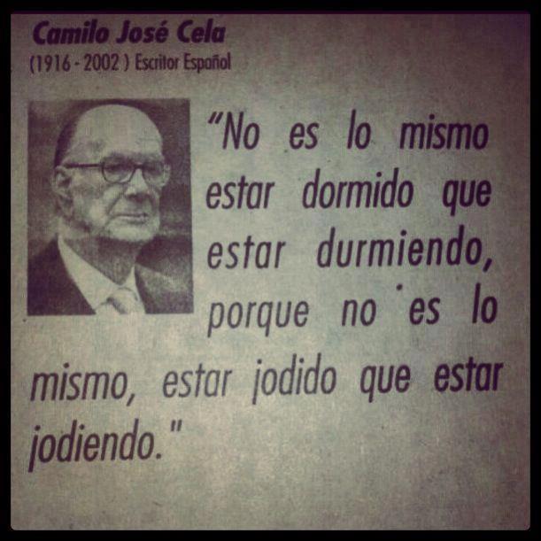 CAMILO JOSE CELA.  ESCRITOR ESPAÑOL. Camilo José Cela, premio Nobel de Literatura en 1999.