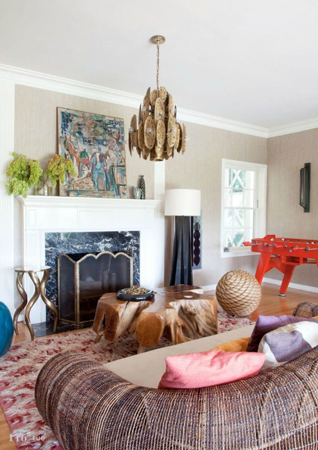 eclectic room via Song of Style 8