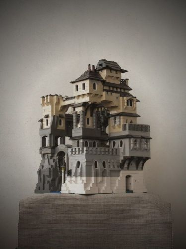 Castle: A LEGO® creation by Myszomor ... : MOCpages.com
