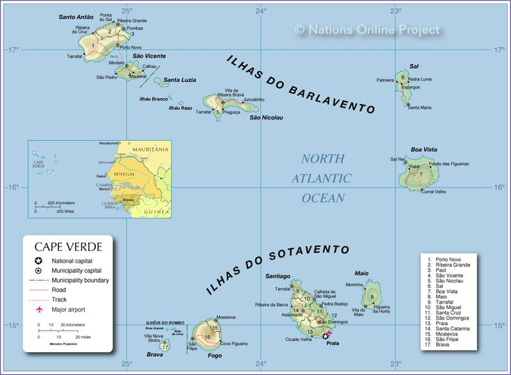 The Best Cape Verde Map Ideas On Pinterest Cape Verde - Cape verde map