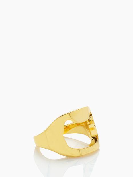 Bottle Opener ring by kate spade new york
