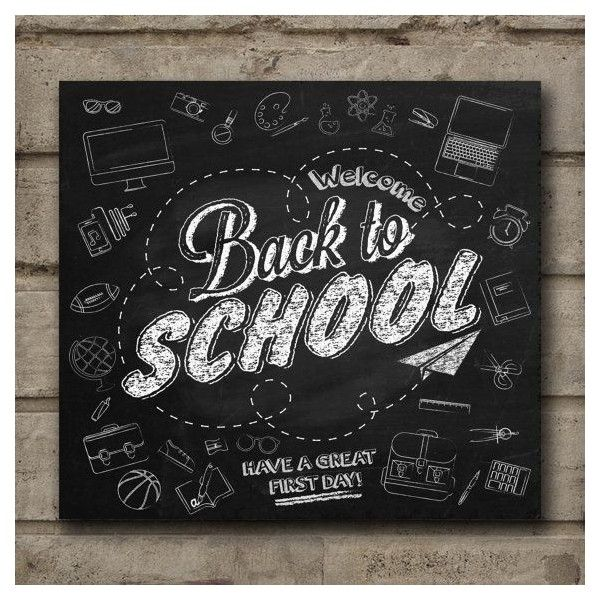 Wall Art- Chalkboard Print -Education Chalkboard... ❤ liked on Polyvore featuring home, home decor, autumn home decor and fall home decor