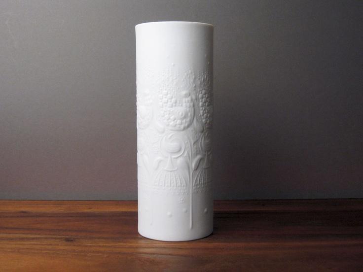 Rosenthal Studio-Linie Vase by Björn Wiinblad - White Bisque Porcelain