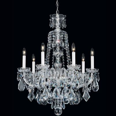 Hamilton Chandelier by Schonbek.  My dining room chandelier. <3 the black crystal version of this too.
