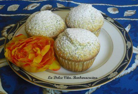 Muffins limone e semi di papavero | La Dolce Vita